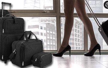 4 dílný set cestovních kufrů