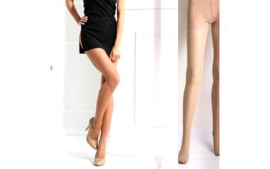 Silonové punčochové kalhoty v tmavé nebo světlé barvě - 10 párů! Skvěle padnou a netrhají se!