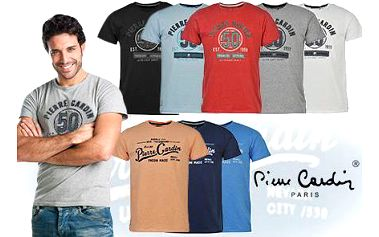 Výběr z 8 modelů triček Pierre Cardin