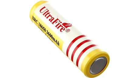 Nabíjecí Li-ion 18650 baterie 3600mAh - 1 kus