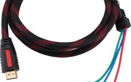 Propojovací HDMI kabel s RCA konektory
