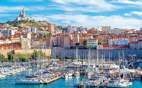 4denní poznávací zájezd pro jednoho do francouzské Provence s ubytováním v hotelu