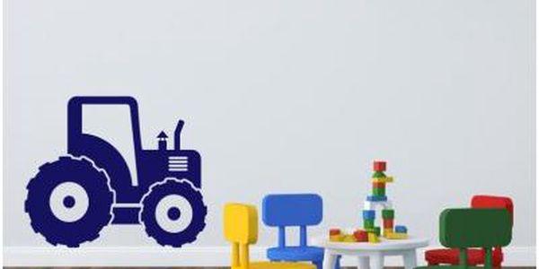 Dětská samolepka s motivem traktoru