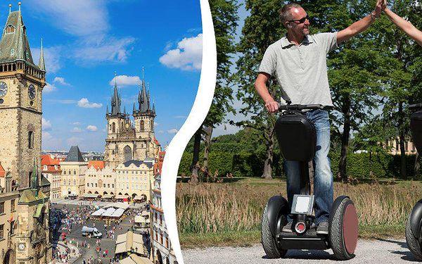 30ti nebo 60ti minutovou jízdu na Segway po Praze pro 2, 4, 6 nebo 8 osob s profesionálním průvodcem