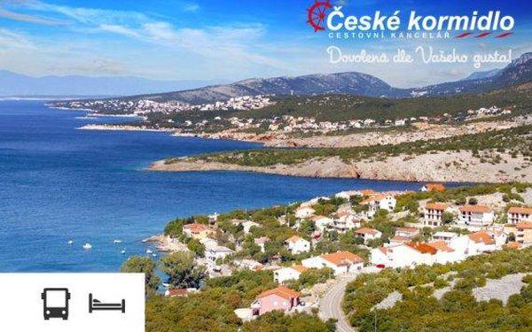 Dovolená v Chorvatsku – týden v apartmánu s dopravou