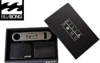 Dárkový set Billabong: peněženka, pouzdro, otvírák