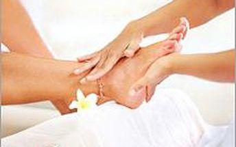 Masáž plosky nohou 20min