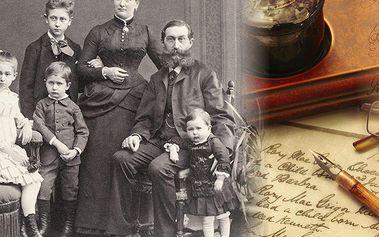 Rodokmen z otcovské či mateřské linie či vývod předků až do 5. generace. Velmi přehledné informace!