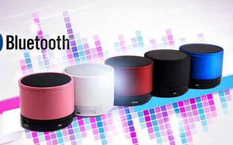 Bluetooth reproduktor s MP3 přehrávačem a AUX vstupem pro připojení! 5 barev na výběr!