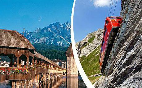 Víkendový zájezd do Švýcarska pro 1 osobu