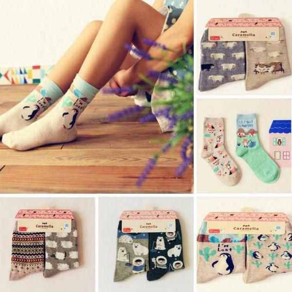 2x Veselé dámské ponožky Animals!