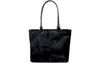 Gino Rossi - Kožená kabelka - černá, ONE