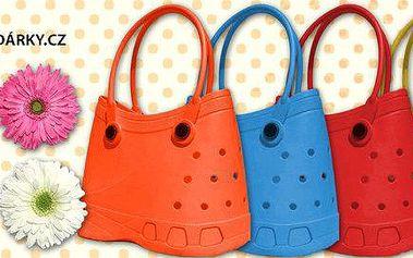 Barevné kabelky SILLY BAGS a květinové ozdoby