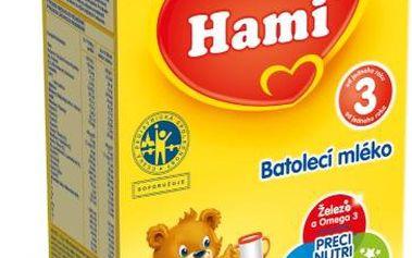 Batolecí mléko Hami 3 6x500g