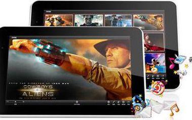 """Tablet 9"""" se systémem Android 4.4 + 4 jádra a více!"""
