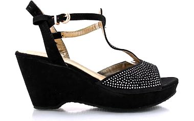 Sandály s platformou MD7098-2B Velikost: 41