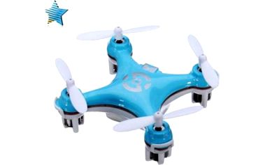 Mini quadcopter na dálkové ovládání - 4 barvy