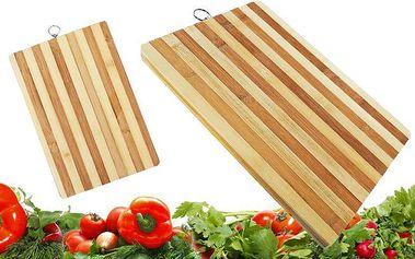 Bambusová deska na krájení ve 3 velikostech