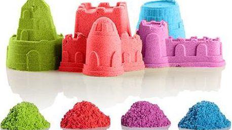 Dárek pro tvořivé děti: Zázračný tekutý písek s 8 ks báboviček