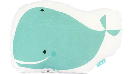 Polštářek Whale Ride, 40x30 cm