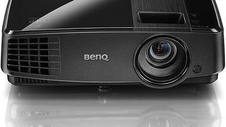 Projektor BenQ MS504 černý (DLP, SVGA, 4:3)