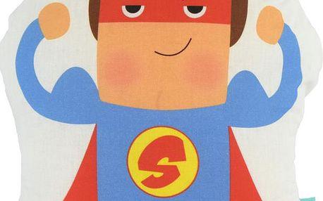 Polštářek Super Hero, 40x30 cm