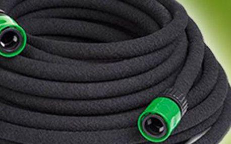 Zavlažovací odkapávací zahradní hadice: ušetří až 70 % vody.