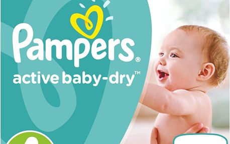 Pampers Active Baby-dry vel. 4Maxi, 76ks