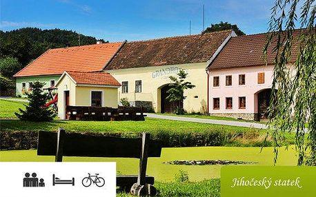 Jižní Čechy – apartmán až pro 6 osob