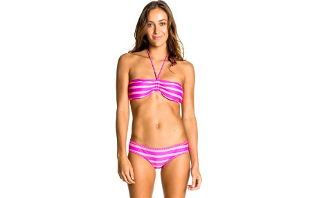 Shirred Bandeau Boy Brief Uviolet Wavelength