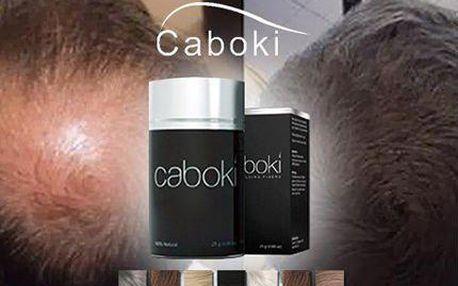 Zakryje pleš a vrátí vlasům hustotu! Revoluční přípravek CABOKI. Vyberte si dle barvy vašich vlasů!