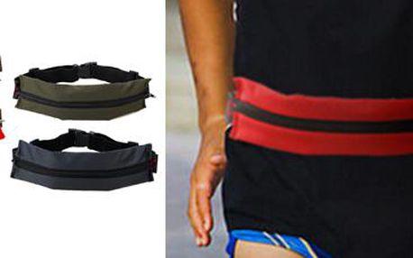 Sportovní opasek s kapsou: Praktický pomocník pro všechny sportovce!