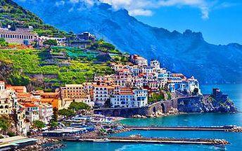 Krásy jižní Itálie: 5denní zájezd pro 1 osobu s ubytováním a snídaní.