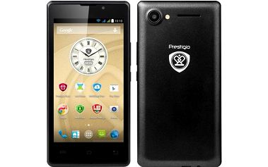 4.5 palcový značkový Smartphone Prestigio s GPS a kvalitním fotoaparátem Akce do 13.5.2015