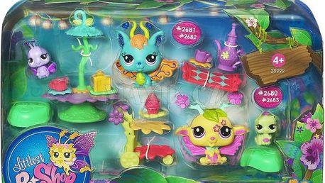 Littlest Pet Shop hrací set s okouzlující vílou - 2680-2683