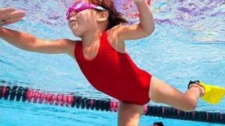 Dětské ploutvičky na plavání