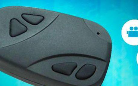 Špionská kamera ve tvaru klíčenky. Perfektní kvalita obrazu i zvuku!