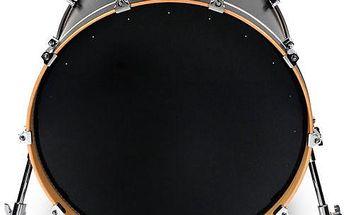 "Rezonanční blána na basový buben Evans 20"" EQ1 Resonant Black"