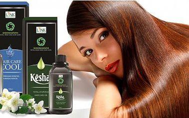Ájurvédské vlasové oleje Sheershapathi - 3 druhy!