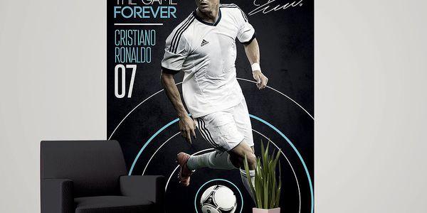 Tapeta Cristiano Ronaldo 158x232 cm