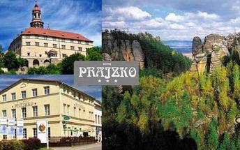 SKALNÍ MĚSTA: Hronov: 3 dny s polopenzí a zmzlinou zdarma Hotel Prajzko až do listopadu