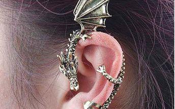 Náušnice ve tvaru draka - na celé ucho