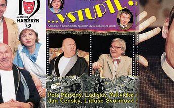 """Navštivte 19.05.2015 divadelní představení """"Vstupte!"""" v plzeňském KD Peklo. Vyrazte za kulturou!"""