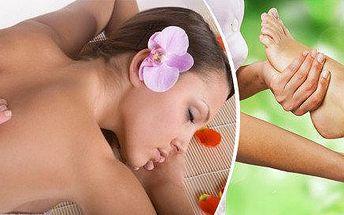 Zdravotně – rehabilitační masáž + reflexní masáž chodidel