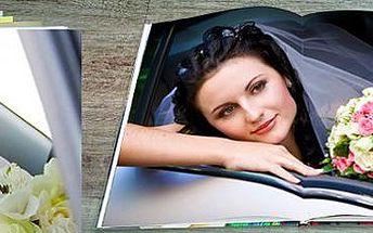 Exkluzivní šitá fotokniha s laminací desek: až 304 stran velikosti A4!