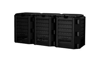 CEV 1200 l COMPOGREEN (3 x 400 l) černý