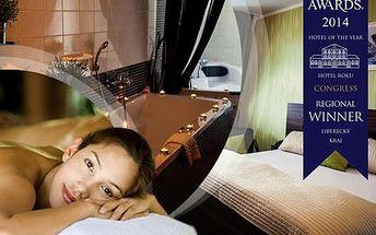 Parkhotel Morris**** v Lužických horách pro DVA na 5 dní s WELLNESS balíčkem