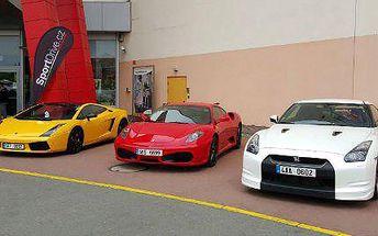 Jízda snů v supersportech Ferrari, Nissan nebo Lamborghini