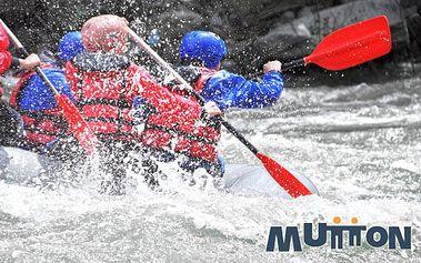 Adrenalinová jízda na raftu na umělém kanálu