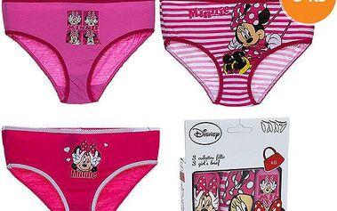 Sada dívčích kalhotek - Minnie, 3ks